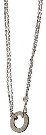 Cartier Circle Of Love 18K White Gold Diamonds Necklace
