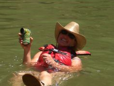 A happy float in the Green River