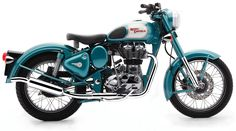2011 Royal Enfield Bullet C5 Classic EFI -Teal Motorcycle