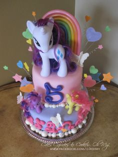 My Little Pony Cake Designs | Working on all of the tiny details was my favorite part!!