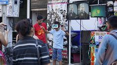 An awesome Virtual Reality pic! Virtual reality along Bangla Road. #Phuket #instatravel #travelgram #tourist #tourism #vacation #traveling #trip #igers #igersmy #picoftheday #potd #goasean #virtualreality by dforderek check us out: http://bit.ly/1KyLetq