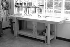 An excellent feature about the most important item in woodworker's workshop.10 rules for workbenches and 10 ways to help your current bench work better.