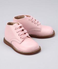 Take a look at this Pink Todd Ankle Boot by FootMates on #zulily today!