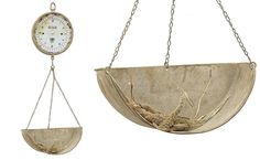 Vintage inspired hanging scale - farmhouse kitchen décor
