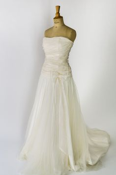 Robe de mariée signée Marie Laporte, modèle Field, soldée à 30%, soit 1113€ au lieu de 1590€ (prix déjà dégriffé) • #soldes #aixenprovence #aixmaville #dress #wedding #weddingdress