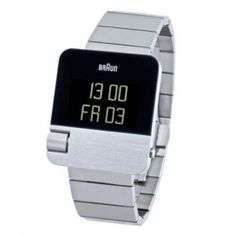 Braun BN0106 - stainless steel with steel strap