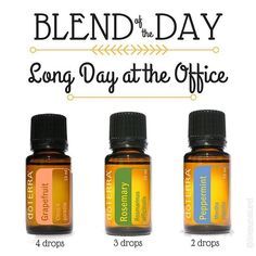 Happy Monday everyone! I got a yummy blend for you today -- and its perfect for my current #mood. I SWEAR today has been the longest Monday everrrrrrr! I've been wrapping up a few projects that require me to pay a LOT of attention to detail, and its just been mentally draining. Good thing I have a diffuser here at work because this little trio is just what I needed! What do you like to diffuse as an afternoon pick-me-up? #followme for more diffuser blends and other tips & tricks on how to…