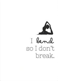 Introduction To Bikram Yoga I Bend So I Don't Break - Digital Art Printable by LotusAve on Etsy.I Bend So I Don't Break - Digital Art Printable by LotusAve on Etsy. Bikram Yoga, Sup Yoga, Yoga Handstand, Bikram Poses, Iyengar Yoga, Ashtanga Yoga, Pranayama, Yoga Fitness, Fitness Quotes