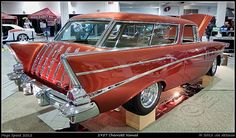 1957 Chevrolet Nomad Maintenance/restoration of old/vintage vehicles: the material for new cogs/casters/gears/pads could be cast polyamide which I (Cast polyamide) can produce. My contact: tatjana.alic@windowslive.com