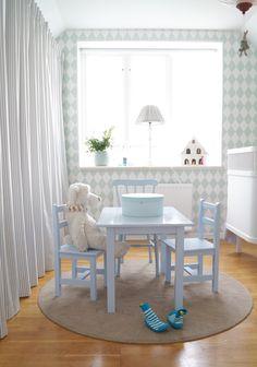 Barnrum snedtak. kid room slanted roof | Simplicity
