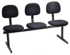 Cadeira Secretária sobre longarina 1837SL