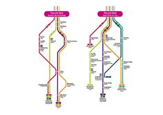 Connect Sheffield transport maps