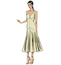 V8814 | Misses' Dress | New Sewing Patterns | Vogue Patterns