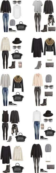 What to Wear in Oslo, Norway Outfit Options. Outfits 1-10 Packing light list on…