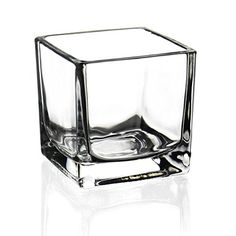 CYS 72 Piece Glass Cube Vase Votive Candle Holders, H x x Open, Clear: CYS brand clear glass cube vase also know as votive candle holders, Height of Wholesale Pack of 72 pcs Glass Votive Holders, Votive Candles, Glass Cube, Glass Art, Clear Glass, Object Drawing, Still Life Drawing, Wooden Lanterns, Industrial Design Sketch