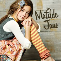 Blog with adorable up cycled clothing ideas for kids: matilda jane clothing via lilblueboo.com