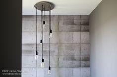 Calgary Designer Wallpaper 6 - Concrete Mural by JF Fabrics
