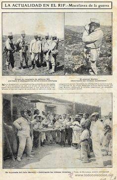 MARRUECOS 1909 POSADA DEL CABO MORENO HOJA REVISTA (Papel - Varios)