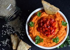 "Stop humming around like a person with no flavor, and look up @alltheworldisgreen's #recipe on the ""Red Chili Hummus""! And start your #weekend on a #🔥one! #instagood #instafood #delicious #yummy #food #foodporn #healthy #vegan #veganfood #plantbased #glutenfree #snack #hummus #chickpeas #pepper #lemon #garlic #cilantro #oliveoil #sesameseeds #vegansofig #veganfoodporn #whatveganseat #veganfoodshare  Yummery - best recipes. Follow Us! #veganfoodporn"