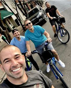 Cycling in Chattanooga- James, Joe, Sal and Jiggy Joker Meme, Joker Quotes, Brian Quinn, Jokers Wild, Impractical Jokers, Lifelong Friends, Joker Tatto, Joker Cosplay, Me Tv