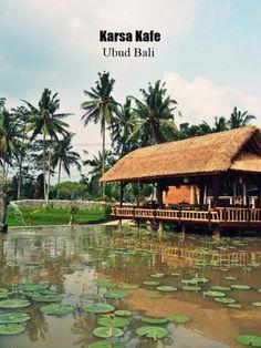 Karsa kafe Ubud Bali