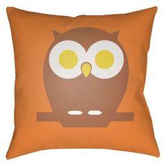 Cute Hoot Decorative Pillow