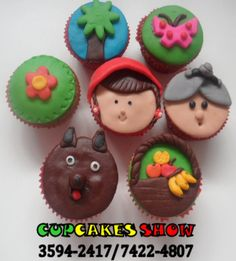 cupcake chapeuzinho vermelho | Cupcakes da chapeuzinho vermelho