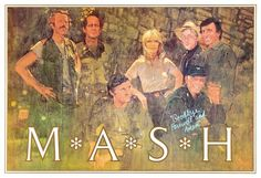"""""""Goodbye, Farewell and Amen"""" poster by Bernie Fuchs for the final episode of M.A.S.H."""