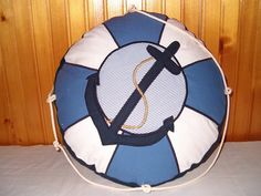 NAUTICAL  PILLOW into Children's Room  Life by Customquiltsbyeva, $50.00