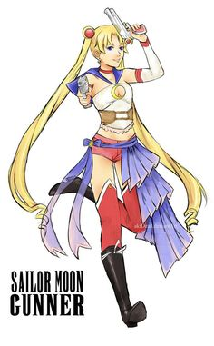 Final Fantasy Moon....id like it better without the sailor boots