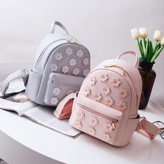 Cheap korean school bags, Buy Quality school bags for teenagers directly from China bags for teenagers Suppliers: Women Flower Mini Bag Printing Backpack Female Korean School Bags for Teenagers Girls Small Backpack Mochila Escolar 568 Cute Mini Backpacks, Stylish Backpacks, Girl Backpacks, Cute Backpacks For Women, Stylish School Bags, Cute School Bags, Bags For Teens, Girls Bags, Small Backpack