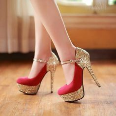 Prom Shoes For Western Girls By DressVe | Stylish High Heels For Girls