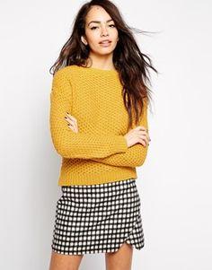 Vergrößern New Look – Pullover mit Rundhalsausschnitt