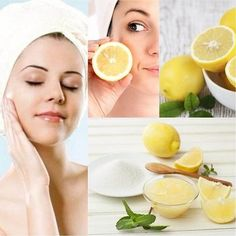 6 ways to use lemon for skin care - Free Medical Health Beauty Guide, Best Beauty Tips, Beauty Care, Beauty Hacks, Hair Beauty, Yoga Facial, Summer Skin Care Tips, Face Routine, Apple Cider Benefits