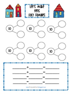 Worksheet Math In Focus Worksheets 1000 images about fact families on pinterest tens printable