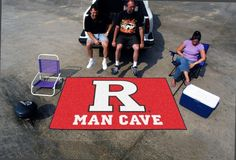 Rutgers University Man Cave UltiMat Rug