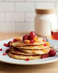 Flax-Coconut Pancakes Recipe on Food & Wine