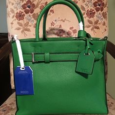 Reed Kelly Green Handbag Used once. Love it but I really need to stop buying handbags. 😬 Reed Bags