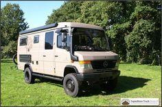 Mercedes Vario 4x4 Expedition Camper Van