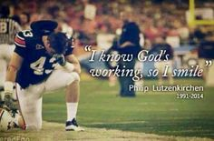 RIP...... Lutzenkirchen #43 War Eagle!!!