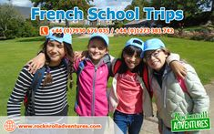 Enjoy your French school trips & educational tours to France with RocknRoll Adventures. We believe, in our school trips to France, you will learn loads of new things. French School, Group Travel, Travel Tours, France Travel, Water Sports, About Uk, Rock N Roll, Trips, Activities