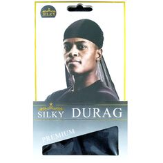 Yellow Green Hot pink Blue Smooth /& Thick// Shiny /& Silky Deluxe Durag Set of 4