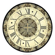 MI BAUL DEL DECOUPAGE: TIC-TAC Clock