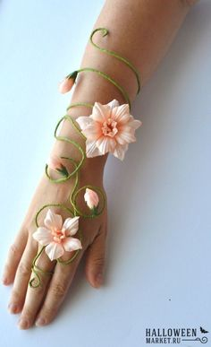 wrist corsages for prom 2017 | fairy #makeup #costume #halloweenmarket #halloween #костюм # ...