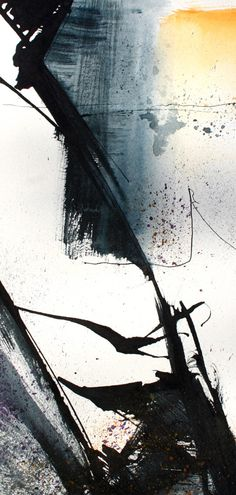 Flowforms 4 - 64cm by 44cm - ink & watercolour