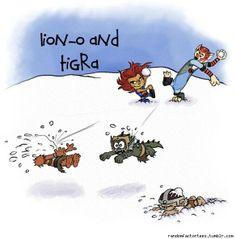 Calvin & Hobbes Thundercats!