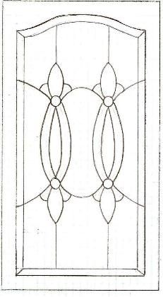 Cabinet Door Pattern Stained Glass Cabinets, Stained Glass Frames, Stained Glass Quilt, Faux Stained Glass, Stained Glass Designs, Stained Glass Projects, Stained Glass Patterns, Leaded Glass, Mosaic Patterns