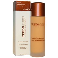 buy real techniques brushes cheap  make up discount coupon code:JWH658,$10 OFF iHerb Mineral Fusion, Liquid Foundation, Full Coverage, Olive 2 , 1.0 fl oz (30 ml)