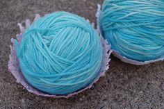Kool-Aid Dyed Yarn