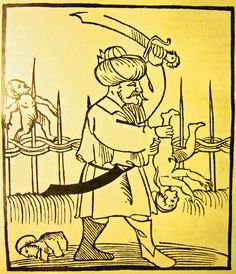 Anti-Muslim propaganda in Germany produced during the Ottoman wars in Europe, 16th century